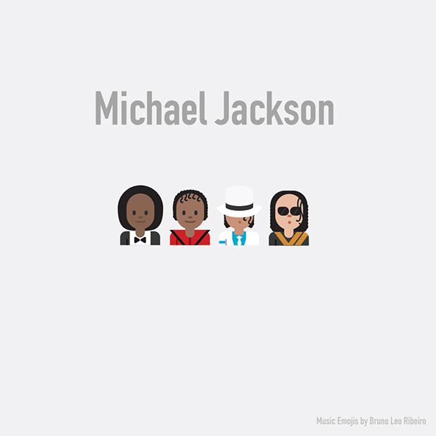 music emojis michael jackson