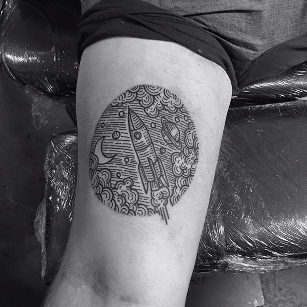 Em Busca De Um Trabalho Autoral Kolahari Cria Tatuagens
