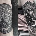 Em busca de um trabalho autoral, Kolahari cria tatuagens incríveis com efeito em hachura