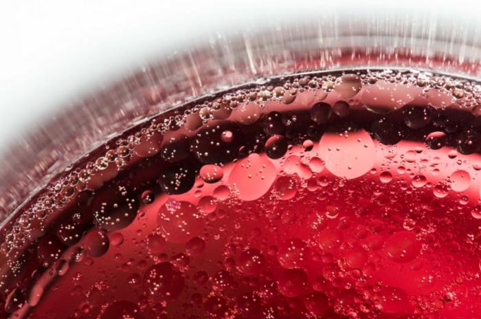 bubbles - vinho tinto, vinagre, azeite