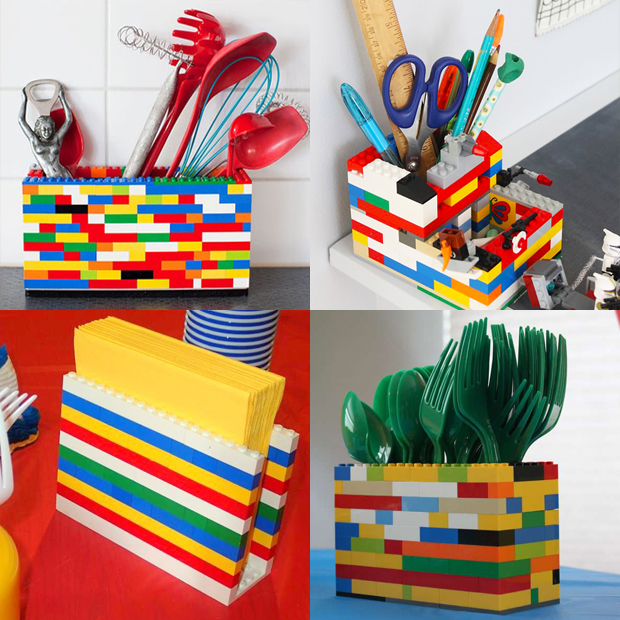 33 Ideias Para Transformar Sua Casa Normal Em: Lego Hacks: 10 Ideias Criativas Para Transformar Objetos