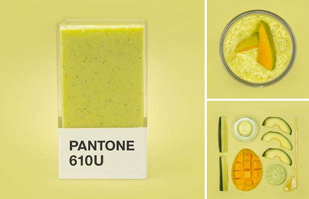 pantone smoothies hedvig a kushner