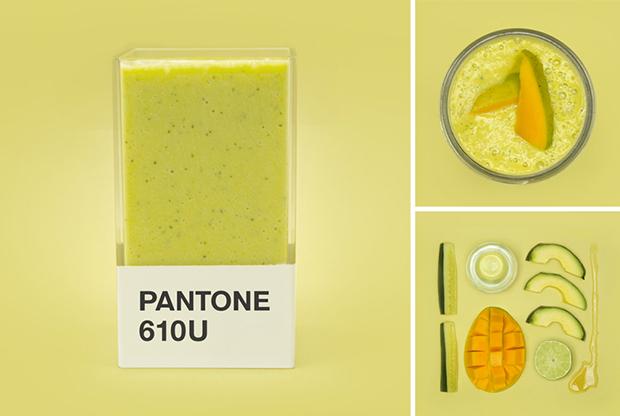 Pantone Smoothies: delicioso projeto traz experimentos de receitas, cores e sabores