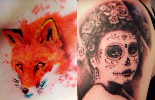Tavares Tattoo aquarela realismo