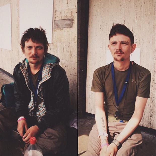 barbeiro moradores de rua