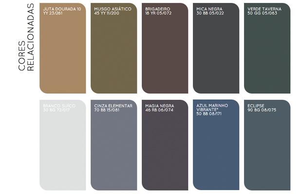tendência 2016 colour futures claro e escuro paleta