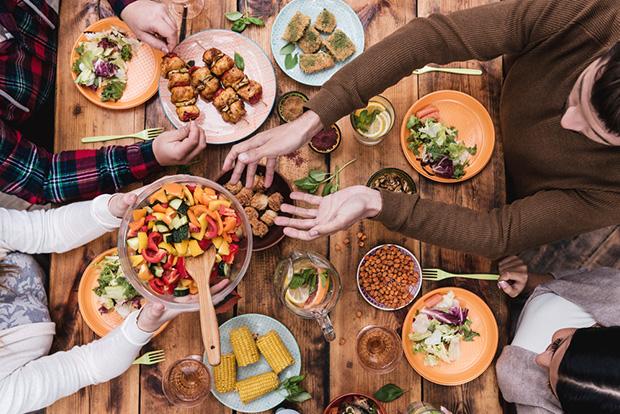 mealsharing refeição desconhecidos
