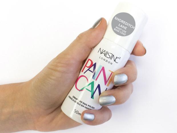 Marca brit nica lan a paint can um esmalte em spray a for Esmalte para baneras en spray
