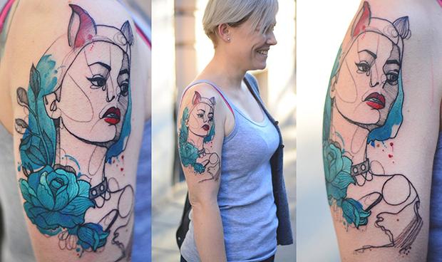tattoo friday Dzo Lama Joanna Swirska