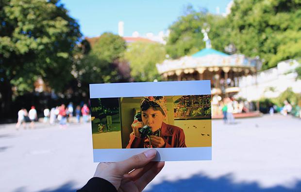amelie poulain cenas fotografadas Liliana Romero Andrade