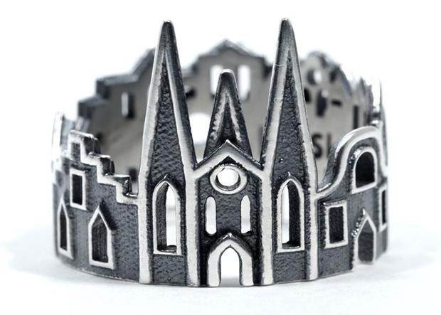 anéis arquitetura cidades Ola Shekhtman