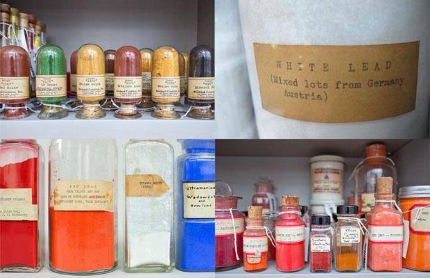 biblioteca de pigmento harvard