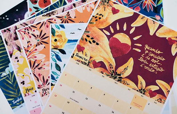 calendário 2016 para baixar e aí beleza canson colorido
