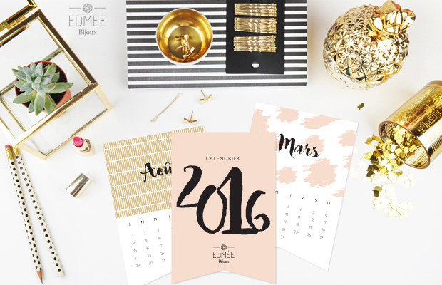 calendário 2016 para baixar Edmée Le blog