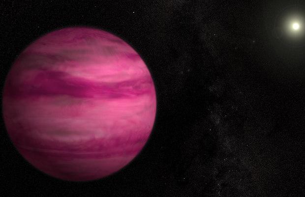 curiosidades cor rosa planeta nasa