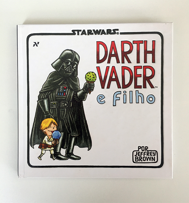 livro star wars Darth Vader Jeffrey Brown