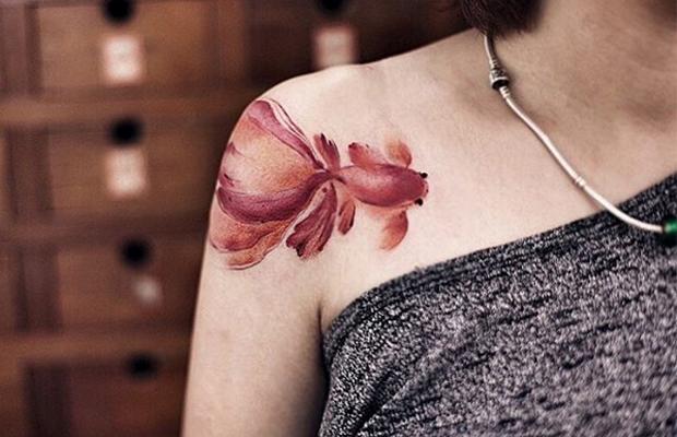 New Tattoo Chen Jie