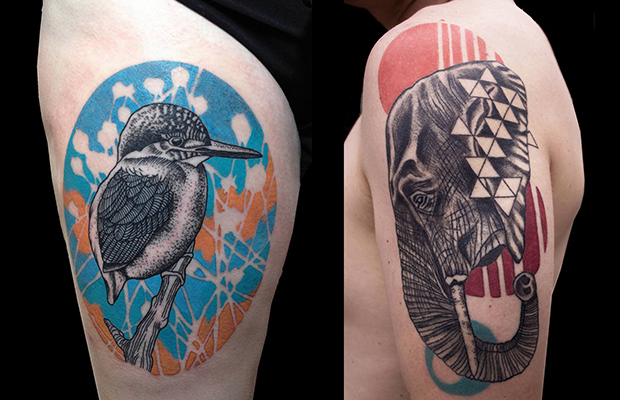 animais tatuagem hannah Willison tattoo