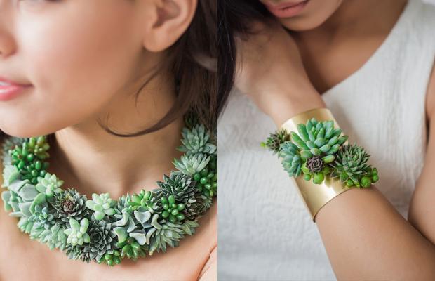 joias vivas e sustentáveis suculentas Susan McLeary