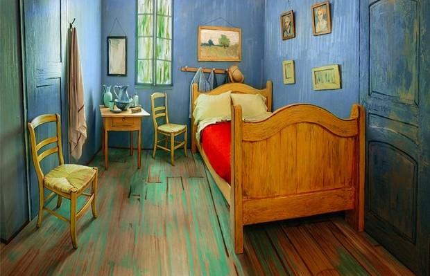 quarto Van Gogh Airbnb