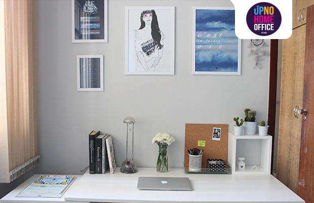 up no home office decoração minimalista gabi barbosa