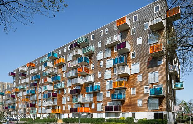 WOZOCO arquitetura contemporânea MVRDV Amsterdã