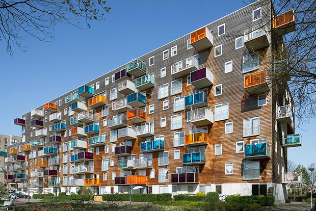 Wozoco conjunto habitacional em amsterd um dos pr dios for Casa holandesa moderna