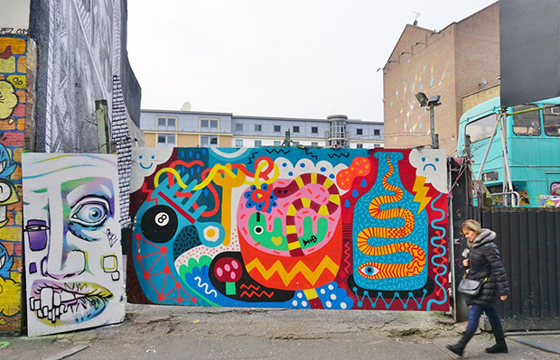 cidades incríveis europa arte urbana street art Londres