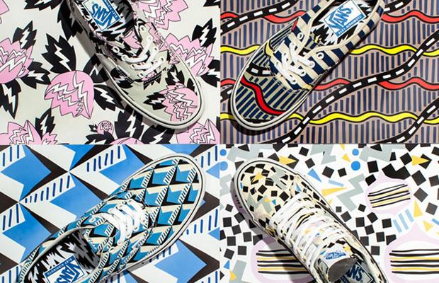coleção Vans x Eley Kishimoto