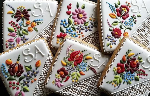 biscoitos decorados loja húngara Mezesmanna