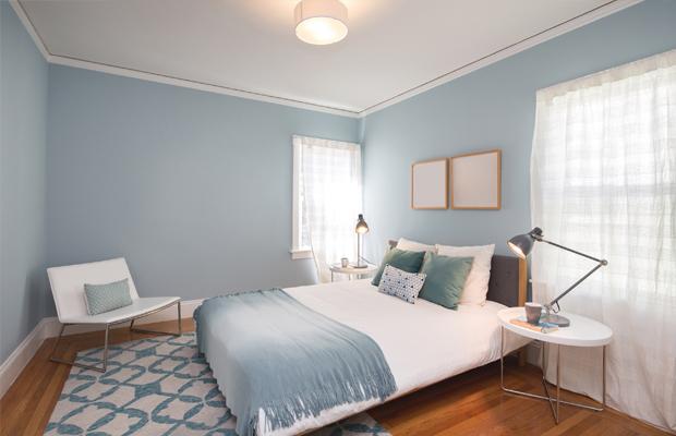 4 cores relaxantes indicadas para pintar o quarto e ter - Habitaciones pintadas de gris ...