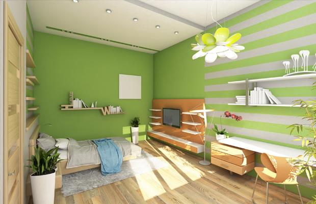 4 cores relaxantes indicadas para pintar o quarto e ter  ~ Quarto Verde Limao E Rosa