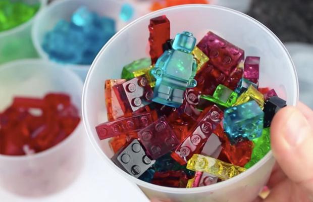 gelatina de Lego