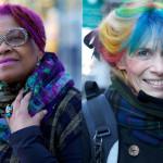 Senhoras mostram que cabelos coloridos vão além da idade. Afinal, moda é pra se divertir!