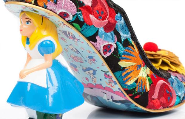 sapatos Irregular Chice Alice no país das maravilhas