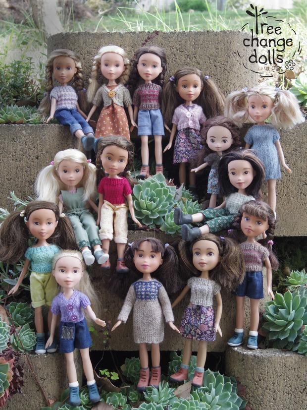 Artista remove maquiagens de bonecas para deixá-las parecidas com crianças reais. Conheça Tree Change Dolls!