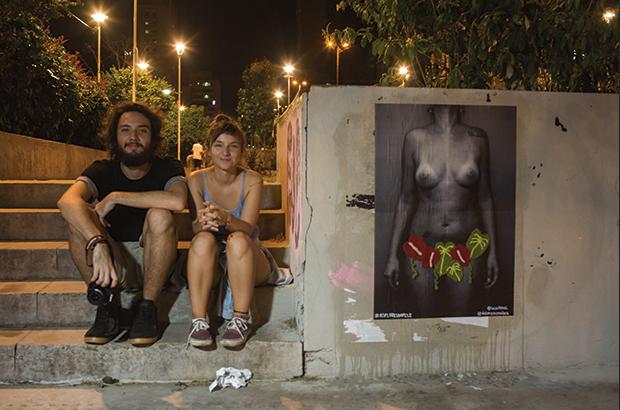 Projeto #asfloresdapele fotografia lambe lambe crochê DoloreZ CrocheZ