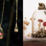 Toda Coisinha: Artista brasileira cria acessórios únicos feitos à mão que carregam pequenos mundos mágicos