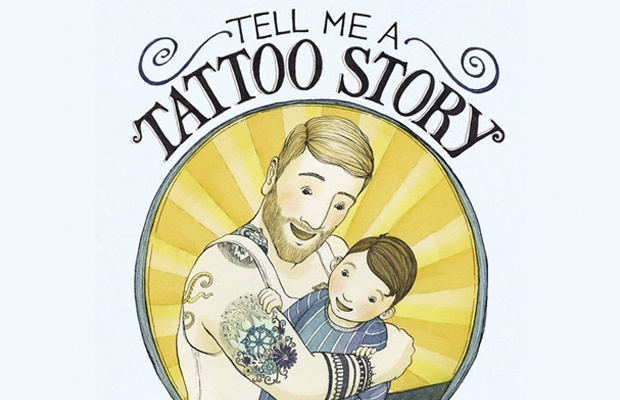 livro infantil Tell Me a Tattoo Story