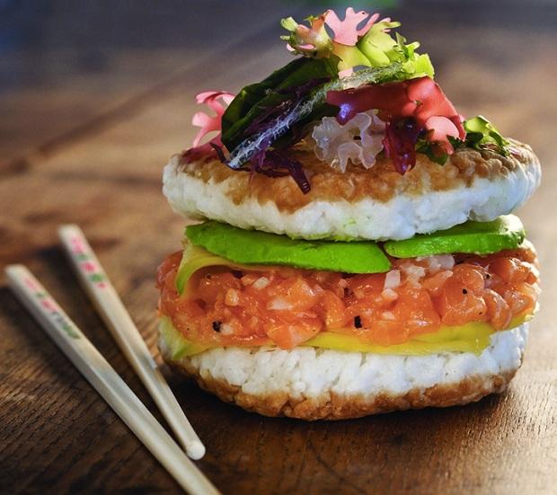Sushi burger, a nova tendência gastronômica ao redor do mundo