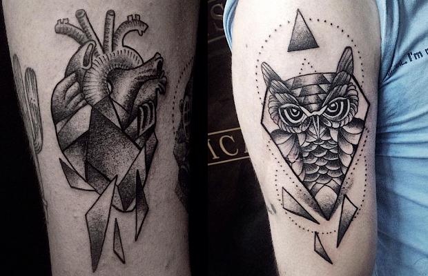 Ricardo Garcia tattoo tatuagem blackwork