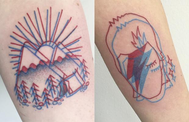 Tatuagens em 3D Winston the Whale