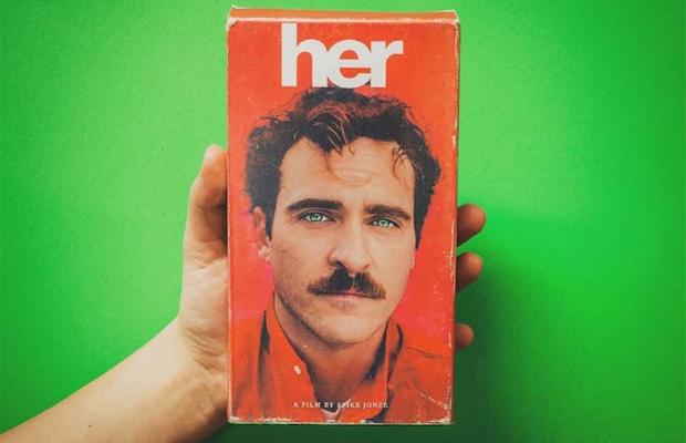 filmes atuais transformados em fita de VHS