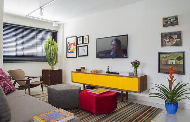 arquitetura Daniel almeida apartamento T4 pontos de cor