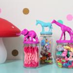 Animal Jars: aprenda a fazer potes decorados com tampas de animais. Confira passo a passo;