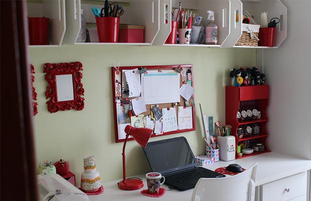 decoração econômica home office eva mota