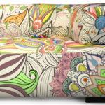 sofá para colorir Bell'Arte