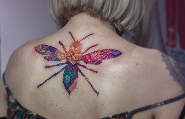 Andrey Lukovnikov tattoo