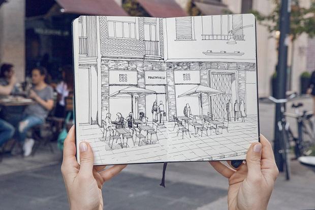 Moleskine Café Milão