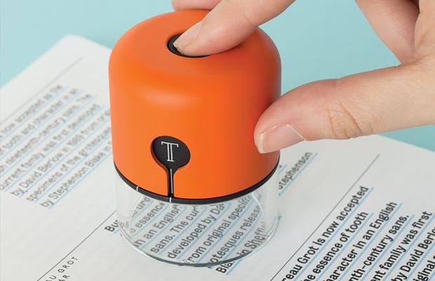 spector dispositivo reconhece fontes cores